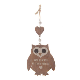"Zawieszka ""Owl always be your friend"""