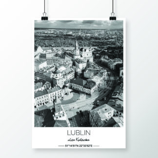 Lublin <br><small>(plakat 50x70 cm)</small>