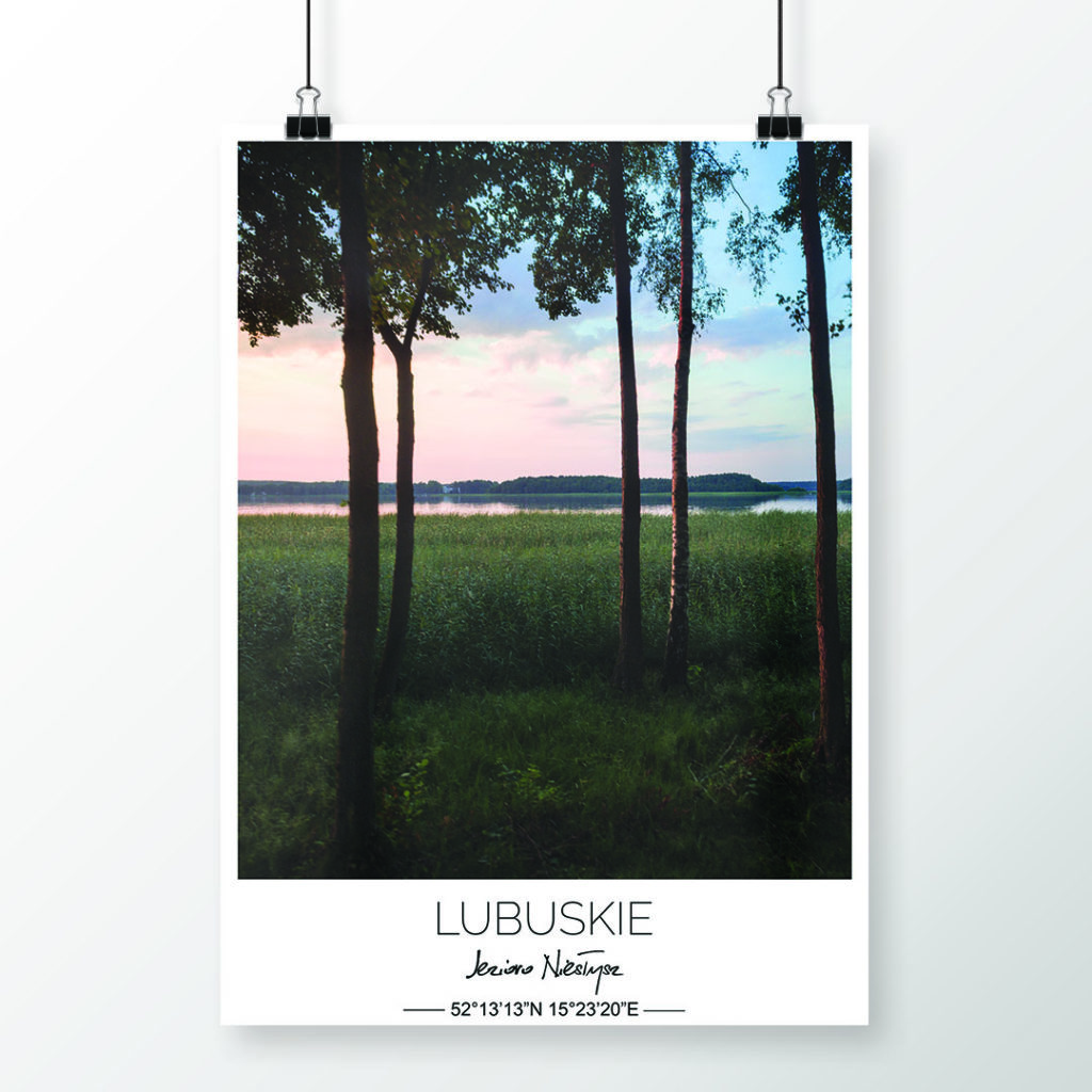Lubuskie <br><small>(plakat 50&#215;70 cm)</small>
