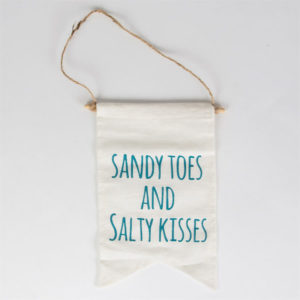 Zawieszka Sandy toes and salty kisses